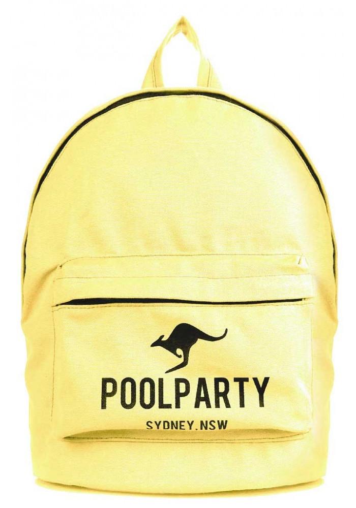 Молодежный рюкзак Poolparty Backpack Kangaroo Yellow