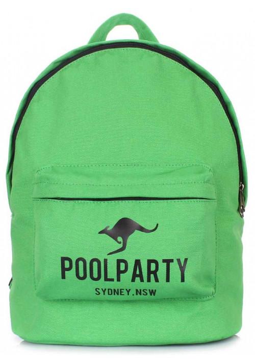 Молодежный рюкзак Poolparty Backpack Kangaroo Green