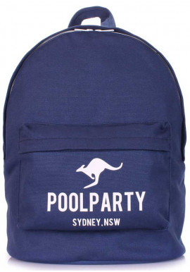 Фото Молодежный рюкзак Poolparty Backpack Kangaroo Darkblue