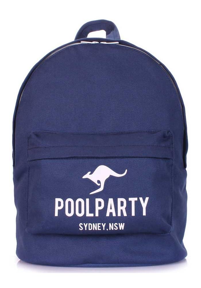 Молодежный рюкзак Poolparty Backpack Kangaroo Darkblue