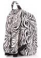 Молодежный рюкзак Poolparty Backpack PU Zebra