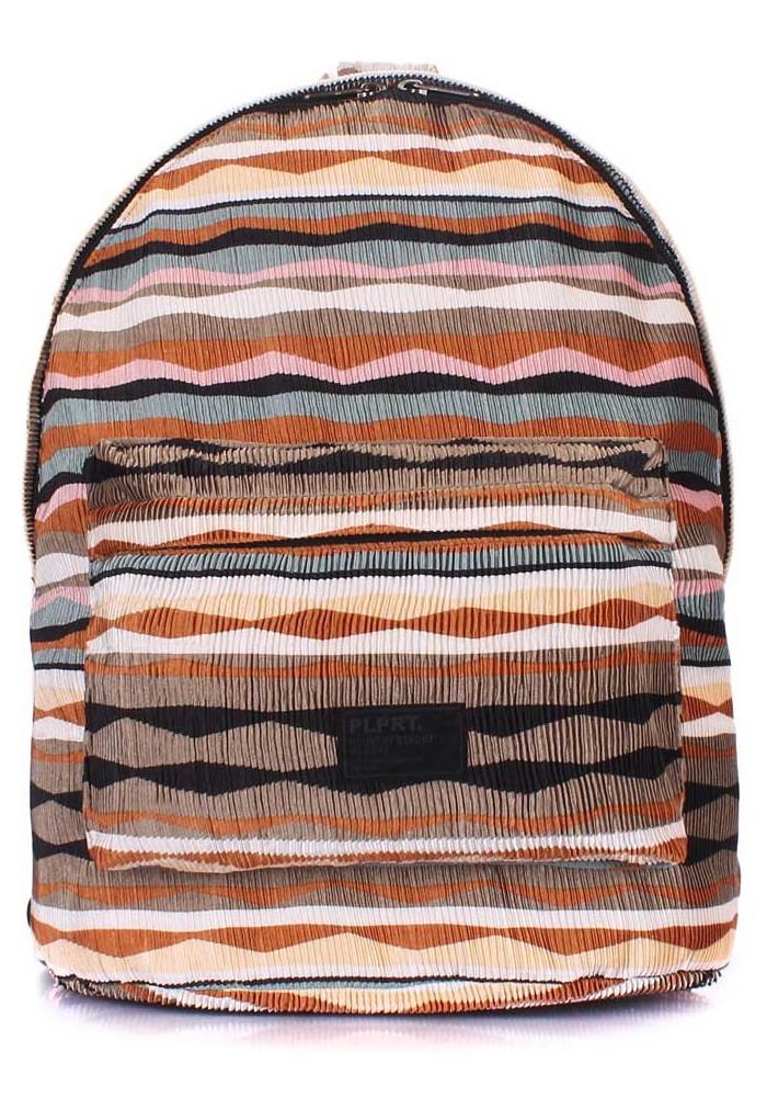 Молодежный рюкзак Poolparty Backpack Rasta Brown