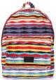 Молодежный рюкзак Poolparty Backpack Rasta Red - интернет магазин stunner.com.ua