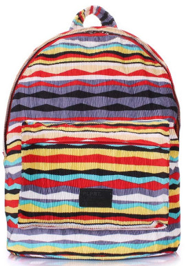 Фото Молодежный рюкзак Poolparty Backpack Rasta Red