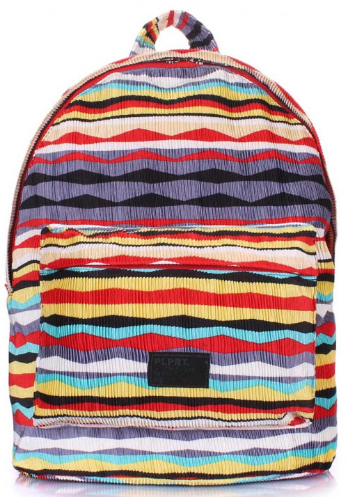 Молодежный рюкзак Poolparty Backpack Rasta Red