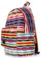 Молодежный рюкзак Poolparty Backpack Rasta Red, фото №2 - интернет магазин stunner.com.ua
