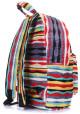 Молодежный рюкзак Poolparty Backpack Rasta Red, фото №3 - интернет магазин stunner.com.ua