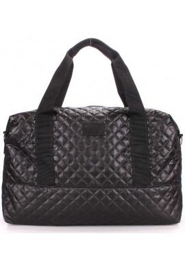 Фото Большая сумка женская из текстиля Poolparty Swag Black