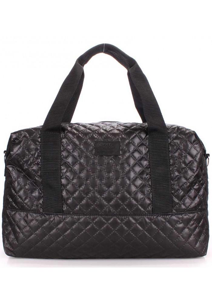 Большая сумка женская из текстиля Poolparty Swag Black
