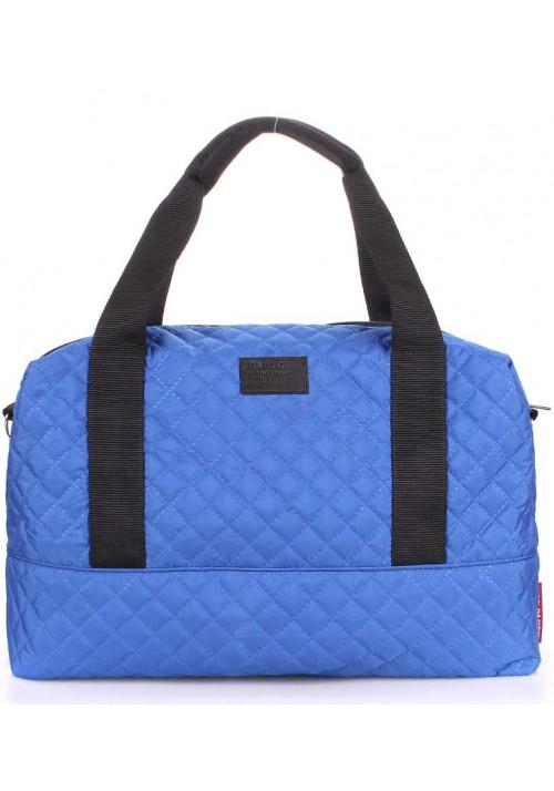 Большая сумка женская из текстиля Poolparty Swag Brightblue