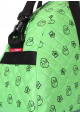 Сумка женская из текстиля Poolparty Alaska Ducks Green