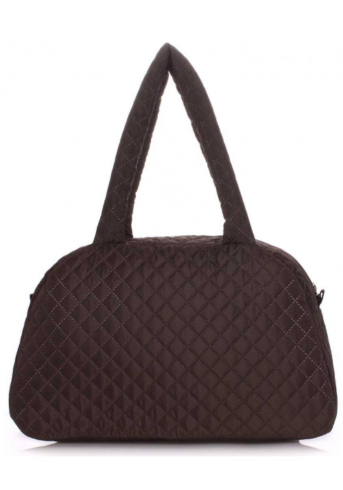Женская сумка из ткани Poolparty Ns4 Eco Brown