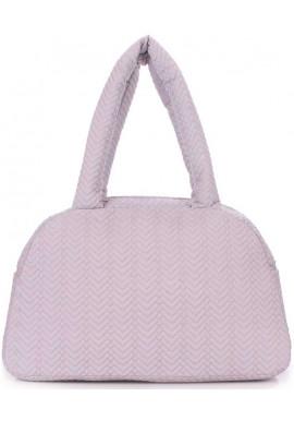Фото Стеганая женская сумка из ткани Poolparty Ns4 Grey Fir