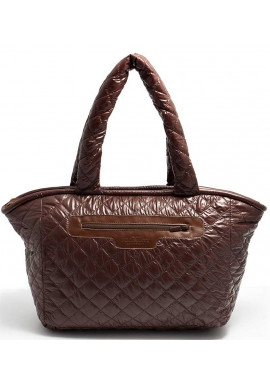 Фото Женская сумка из ткани Poolparty Pool Brown Cocoon