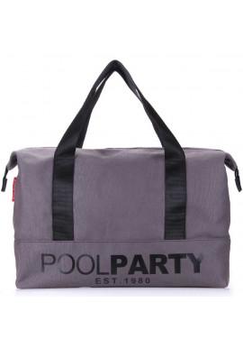 Фото Сумка тканевая молодежная Poolparty Pool 12 Grey
