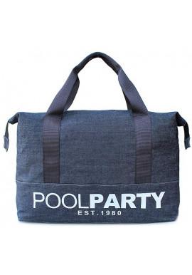 Фото Сумка тканевая молодежная Poolparty Pool 12 Jeans