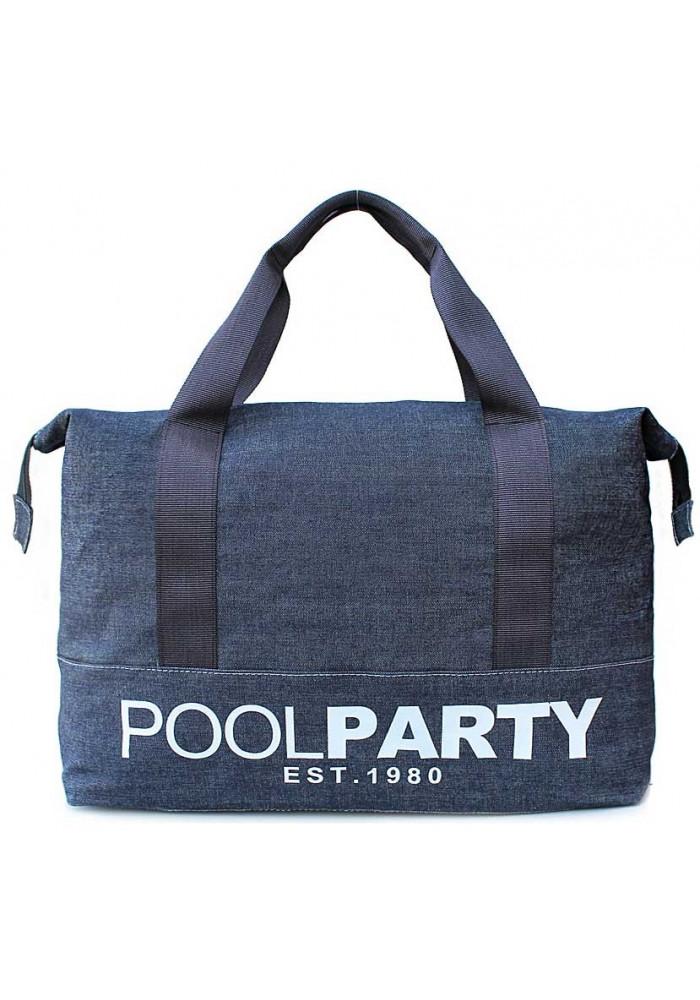 Сумка тканевая молодежная Poolparty Pool 12 Jeans