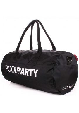 Фото Спортивная сумка Poolparty Gymbag Oxford Black