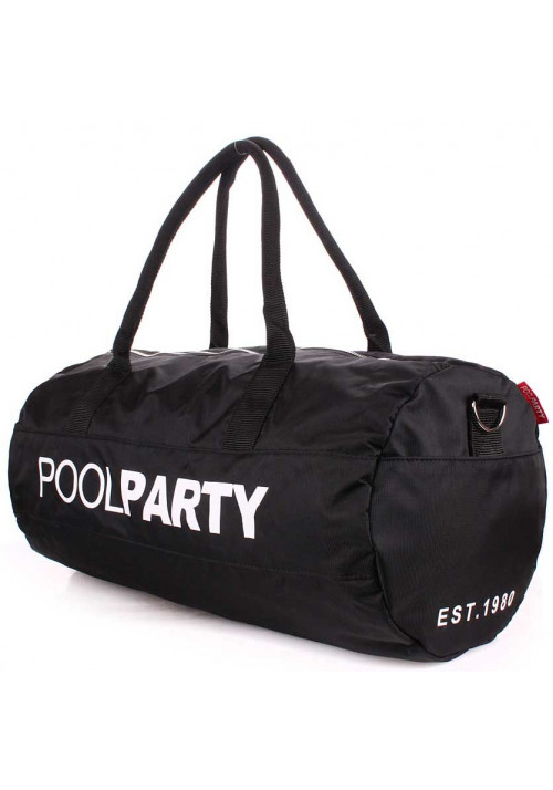 Спортивная сумка Poolparty Gymbag Oxford Black