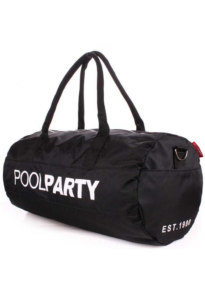 Спортивная сумка Poolparty Gymbag Oxford Black