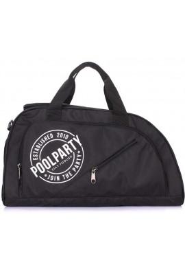 Фото Спортивная сумка Poolparty Dynamic Black