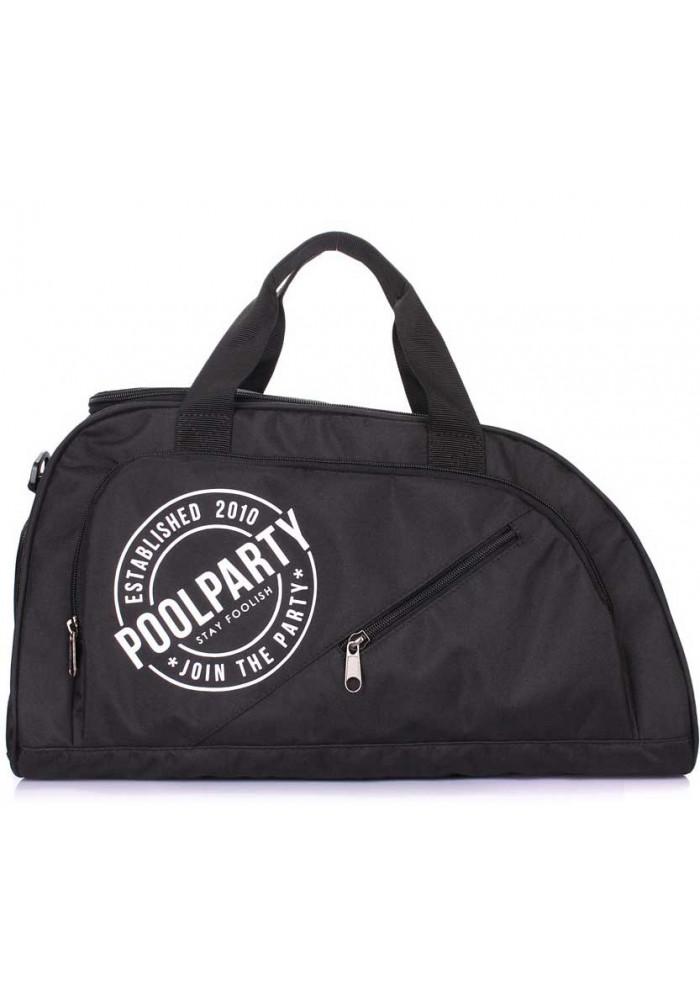 Спортивная сумка Poolparty Dynamic Black