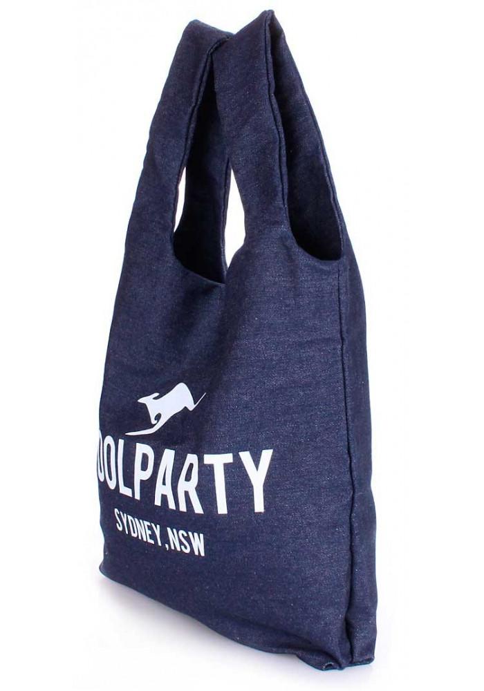 Стильная сумка женская из ткани Poolparty Pool 20 Jeans, фото №2 - интернет  магазин 076257db4ba