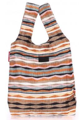 Фото Стильная сумка женская из ткани Poolparty Pool 20 Velvet Brown