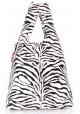 Стильная сумка женская из ткани Poolparty Pool 20 Zebra - интернет магазин stunner.com.ua