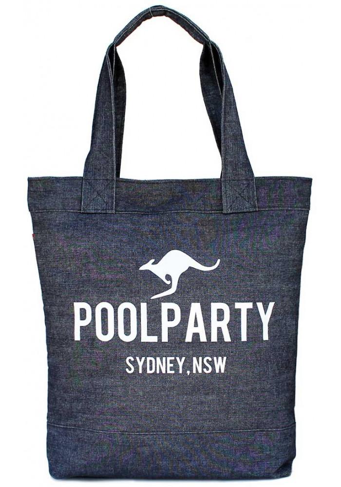 Джинсовая сумка женская из ткани Poolparty Pool 1 Jeans