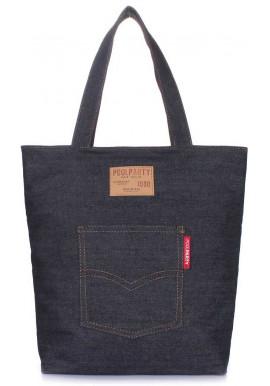 Фото Джинсовая сумка женская из ткани Poolparty Arizona Jeans