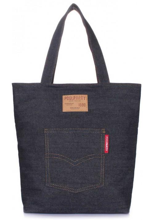 Джинсовая сумка женская из ткани Poolparty Arizona Jeans