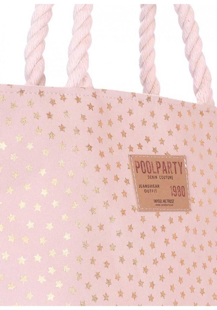 77d357556961 ... Сумка женская из ткани Poolparty Laspalmas Golden Stars, фото №3 -  интернет магазин stunner ...