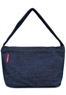 Фото Джинсовая сумка женская из ткани Poolparty Pool 8 Jeans
