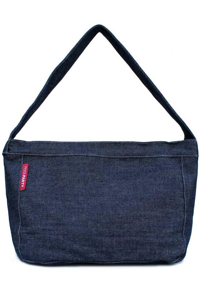Джинсовая сумка женская из ткани Poolparty Pool 8 Jeans