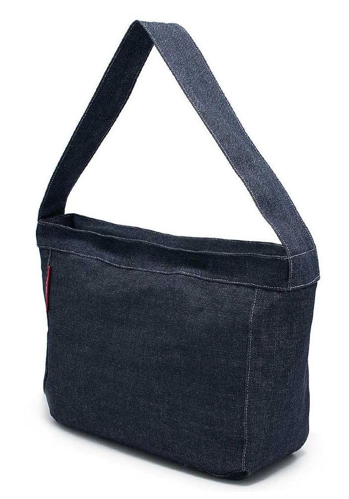 Джинсовая сумка женская из ткани Poolparty Pool 8 Jeans, фото №2 - интернет  магазин 3a9fa551ee3