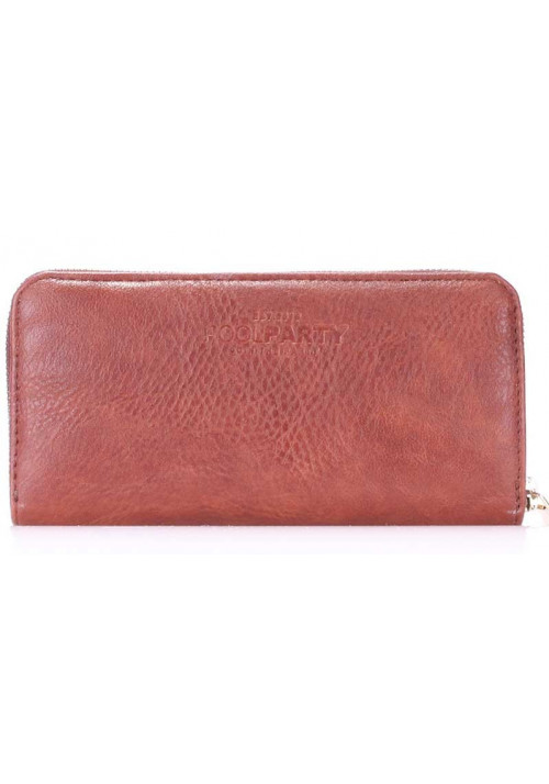 Женский кошелек Poolparty Brown PU Wallet