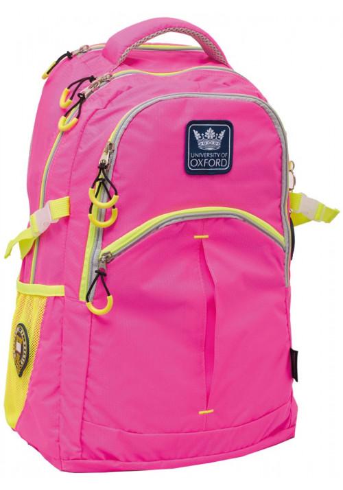 """Рюкзак для девочки в школу """"Oxford"""" X231 розовый"""