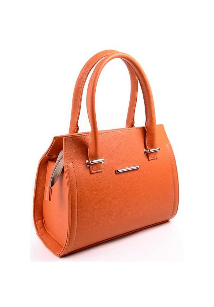 Качественная сумка женская Камелия рыжая