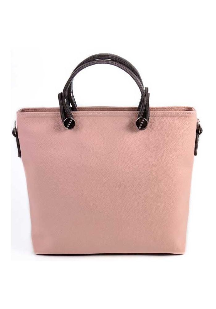 Брендовая женская сумка Камелия пудра