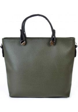 Фото Женская сумка Камелия зеленая М61-74-47