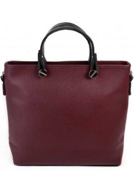 Фото Женская сумка Камелия бордовая М61-38-47