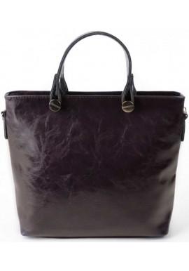 Фото Женская сумка Камелия фиолетовая глянцевая М61-51