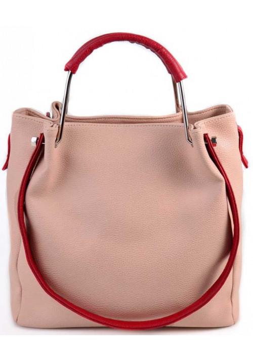 Женская сумка Камелия розовая