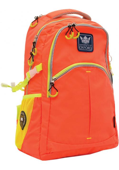 """Рюкзак подростковый """"Oxford"""" X231 оранжевый"""