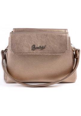 Фото Мини сумочка клатч женский Камелия золотой М126-69