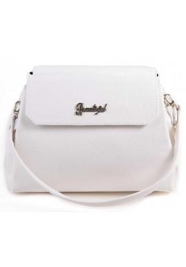 Фото Мини сумочка клатч женский Камелия белый М126-17