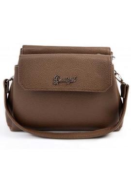 Фото Мини сумочка клатч женский Камелия коричневый М126-71