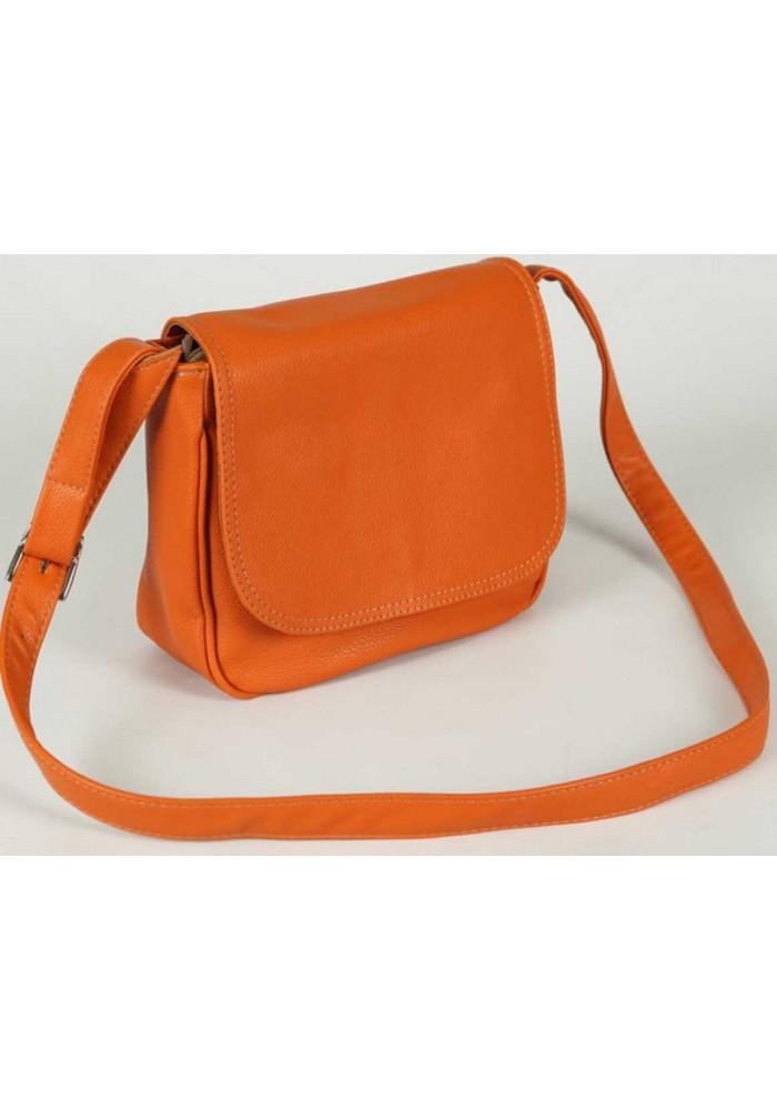 Фото Сумка клатч женская Камелия оранжевый М52-2