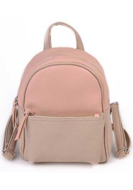 Фото Маленький женский рюкзак Камелия цвета пудры